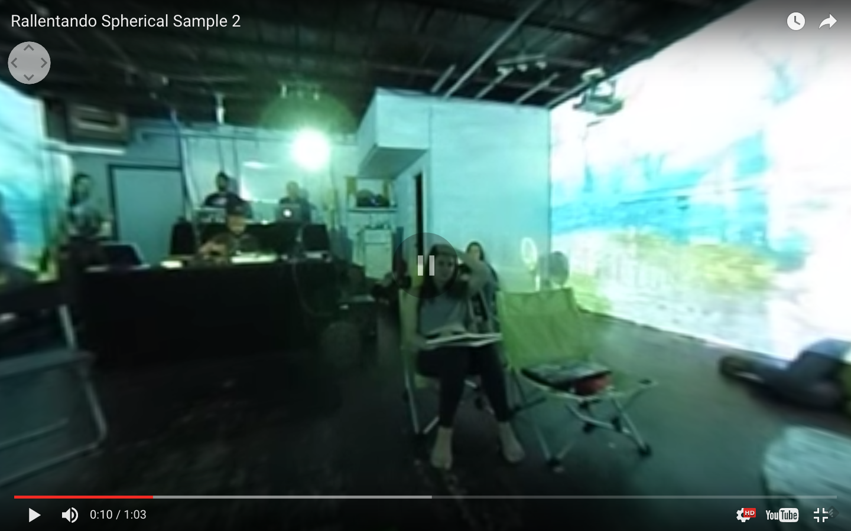 Rallentando Spherical Video Overlays – toasterlab